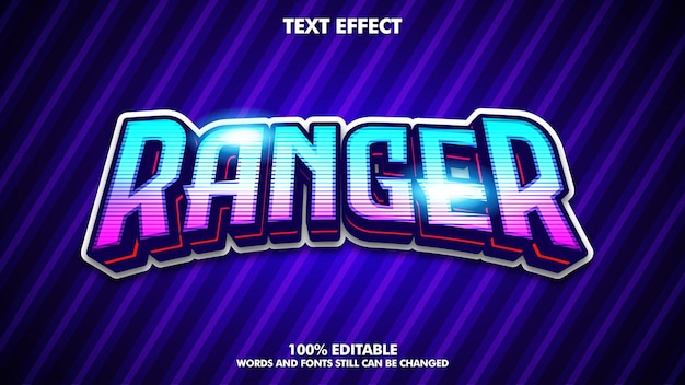 Bearbeitbarer texteffekt für den mobilen e-sport