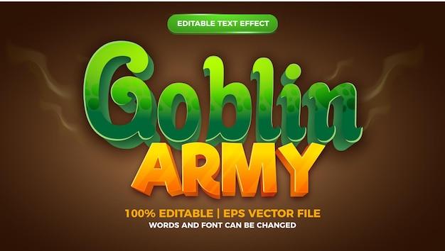 Bearbeitbarer texteffekt für zombie-land-comic-spiele