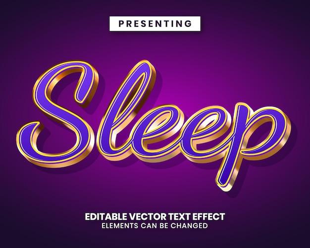 Bearbeitbarer texteffekt - luxusstil in glänzendem purpurgold