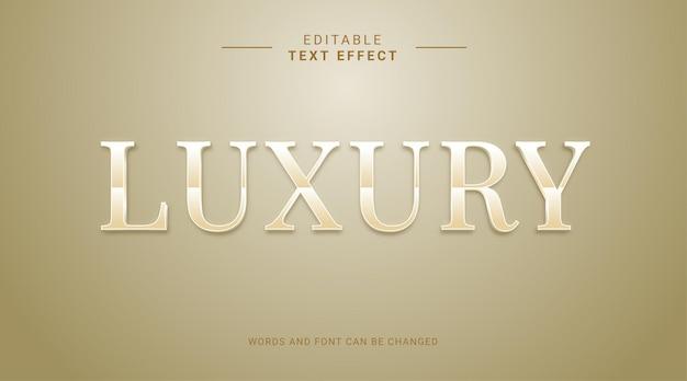 Bearbeitbarer texteffekt moderner fetter stil luxus gold premium