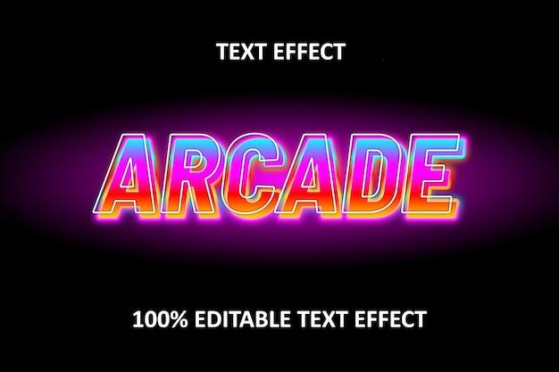 Bearbeitbarer texteffekt neon pink