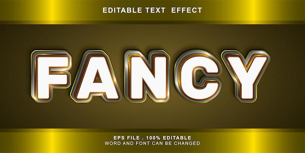 Bearbeitbarer texteffekt phantasie