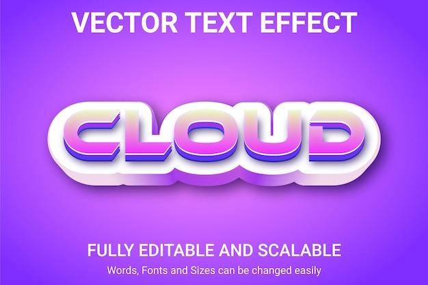 Bearbeitbarer texteffekt - rabatt textstil