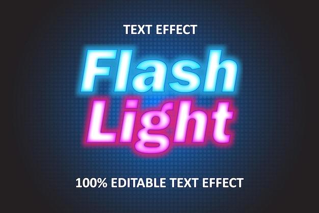 Bearbeitbarer texteffekt rosa blau
