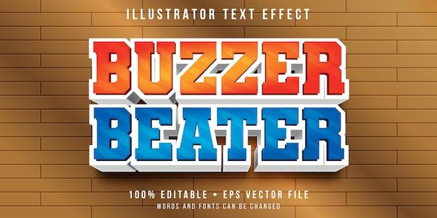 Bearbeitbarer texteffekt - summer-beater-stil