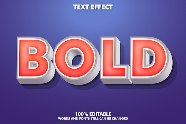 Bearbeitbarer texteffekt, typografie