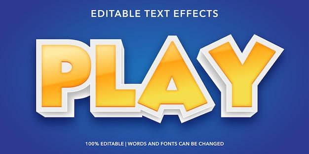 Bearbeitbarer texteffekt