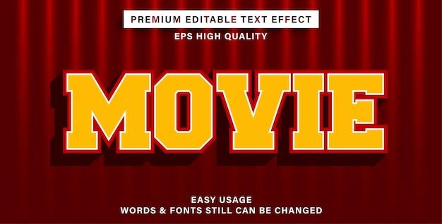 Bearbeitbarer texteffektfilm