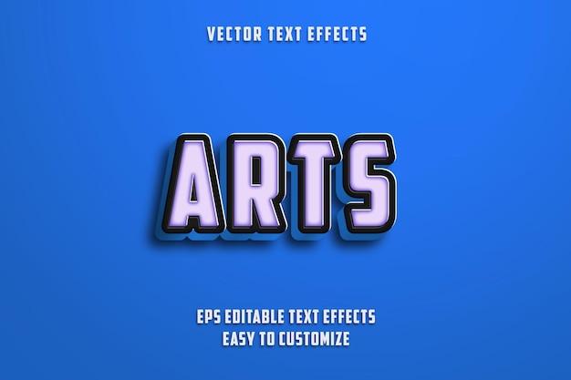 Bearbeitbarer texteffektstil