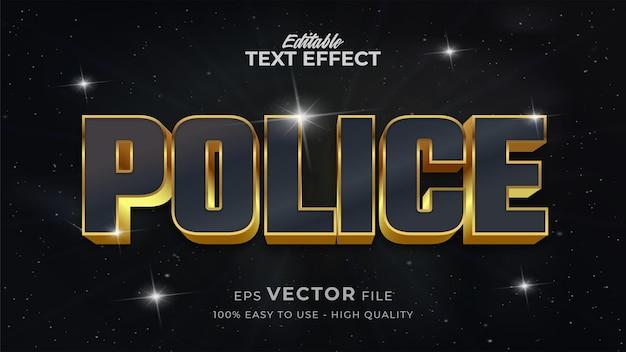 Bearbeitbarer textstileffekt - retro-textstil-thema