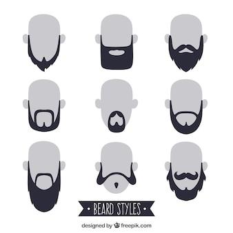 Beardstyle sammlung
