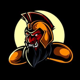Beast knight e sport logo