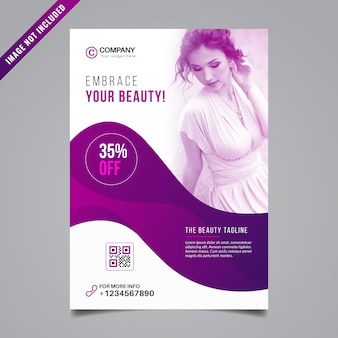 Beauty flyer design