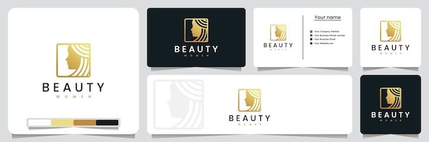 Beauty frauen, salons und spa, logo design inspiration