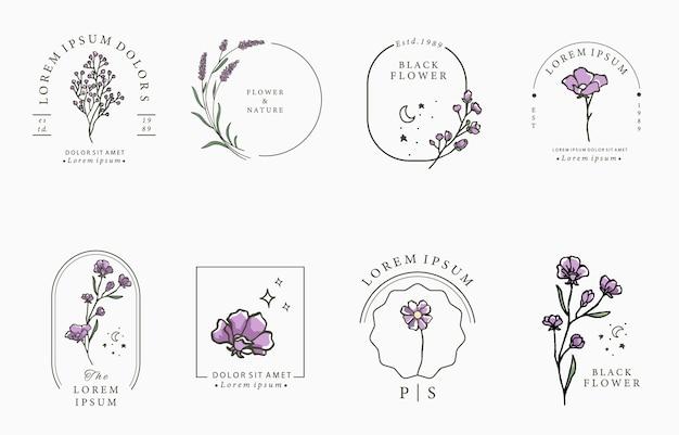Beauty lavendel kollektion.