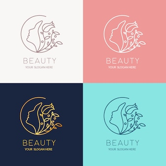 Beauty-logo-design-vorlage