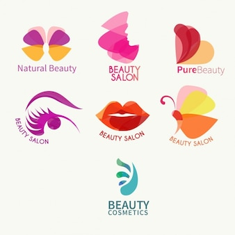 Beauty-logo-sammlung