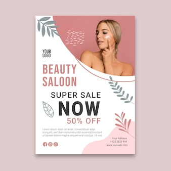 Beauty saloon flyer v