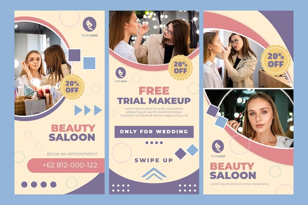 Beauty saloon instagram geschichten