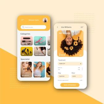 Beauty selbst salon buchungs-app