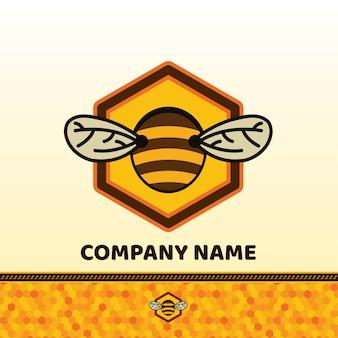 Bee abzeichen und label