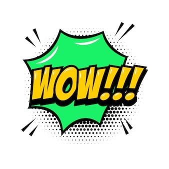 Beeindruckend!!! comic-stilphrase mit sprechblase