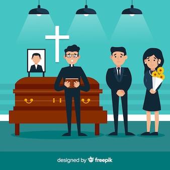 Begräbniszeremonie