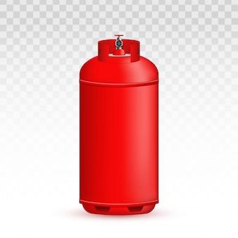 Behälter mit propan.
