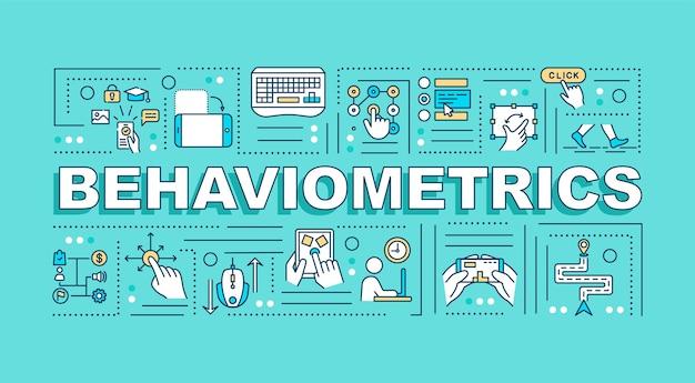 Behaviometrics wortkonzepte banner