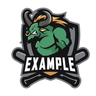 Beispiel e sport logo
