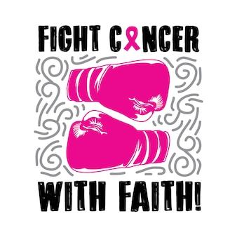 Bekämpfe krebs mit dem glauben