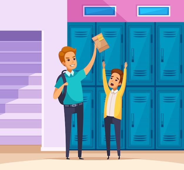Belästigung in der schule zusammensetzung