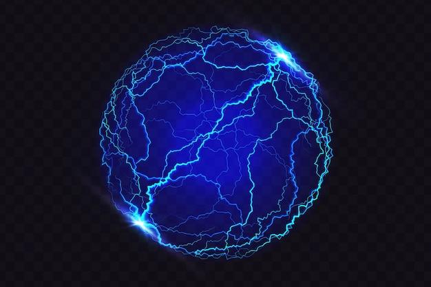 Beleuchteter ball lichteffekt