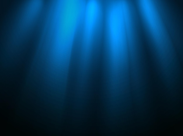 Beleuchtetes bühnenbild. präsentationsvorlage