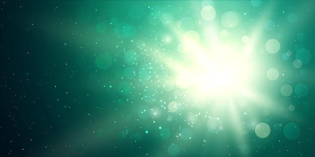 Beleuchtung fackel sonne platzen hintergrund