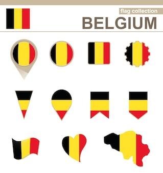 Belgien flaggenkollektion, 12 versionen