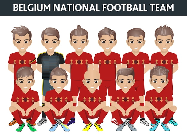 Belgien national football team für internationales turnier