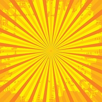 Beliebte ray star burst grungy