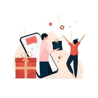 Belohnungs- und treueprogramm, empfehlungsbelohnung und marketing