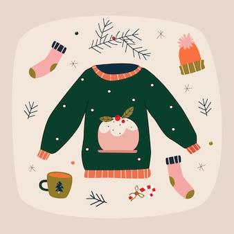 Bequemes weihnachtsset