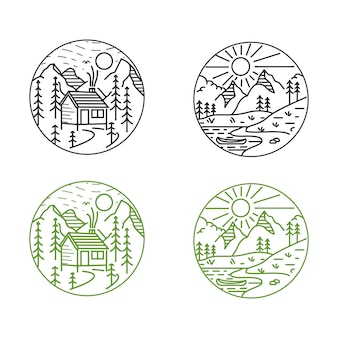 Berg mono-line design