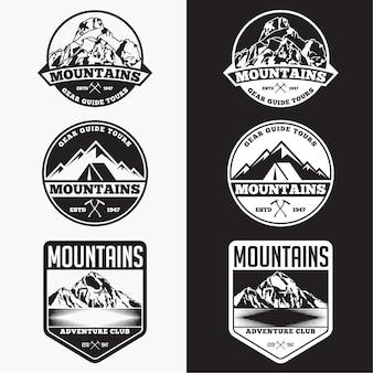 Berge abzeichen