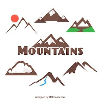 Berge sammlung