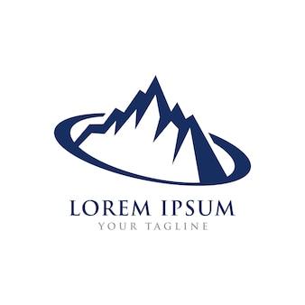 Berggipfel theme symbol design