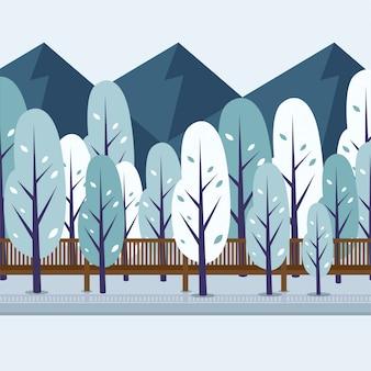 Berglandschaft natur