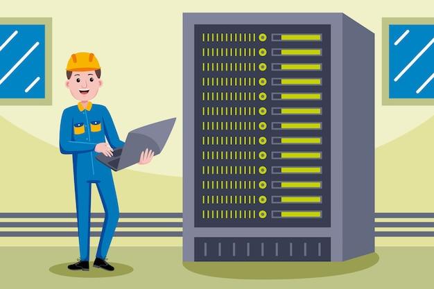 Beruf des netzwerktechnikers