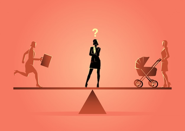 Beruf oder familie