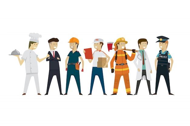 Berufe der gruppenmenschen