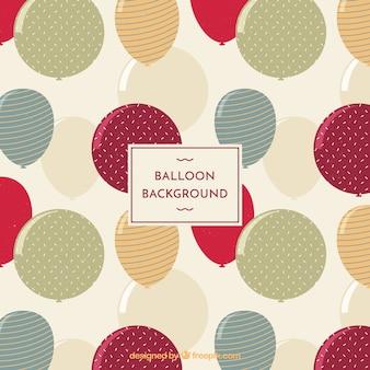 Beschaffenheitsballonhintergrund zu feiern