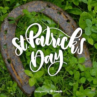 Beschriftung st. patrick's day